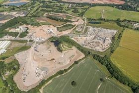 Harworth lets 38 acres at Warwickshire quarry
